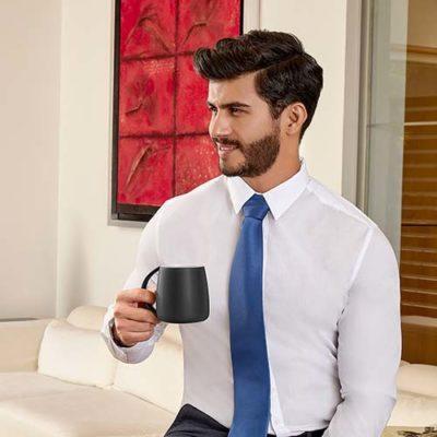 TAZA ANCHA MORTERATSCH La taza ancha morteratsch sin duda es exepcional por su forma disfruta goza tu cafecito con esta bonita taza