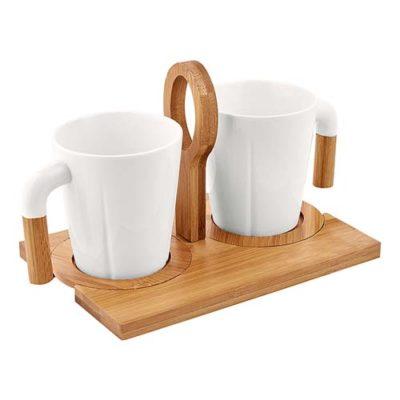JUEGO DE TAZAS DE MADERA El juego de tazas de madera sin duda es diferente a todos las tazas que conoce ademas tiene incrustacion en madera regala un par tus clientes
