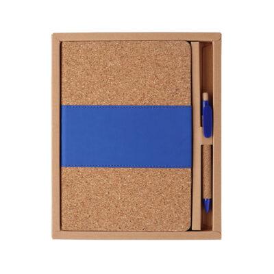 LIBRETA Y PLUMA DE CORCHO Libreta y pluma de corcho con caja ideal para regalar a tus clientes sin duda un obsequio diferente